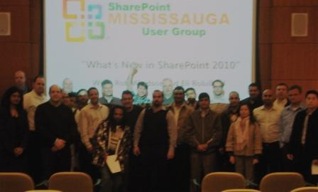 Mississauga SharePoint User Group