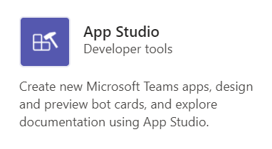Automatically generating your Microsoft Teams App Manifest