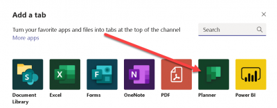Using Planner for Managing your Project Tasks within Microsoft Teams Channels